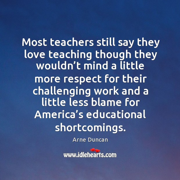 Image, Most teachers still say they love teaching though they wouldn't mind a little more respect