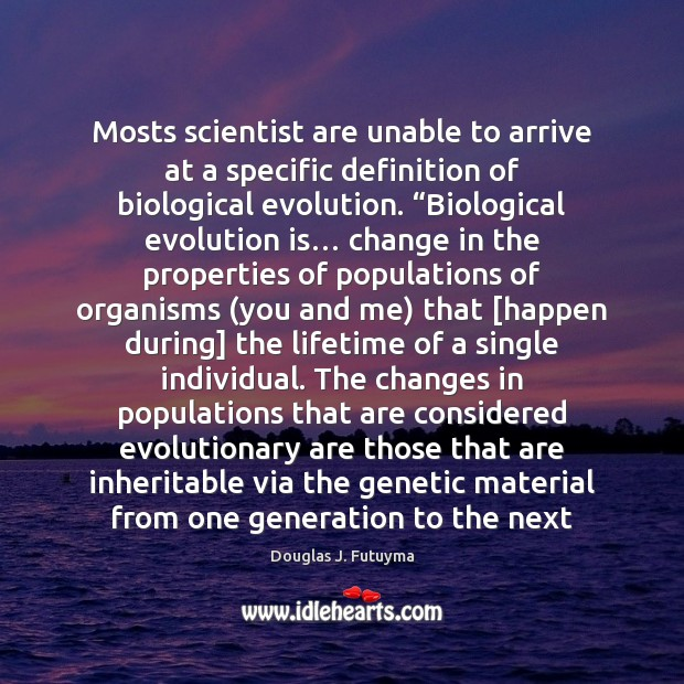 Image, Mosts scientist are unable to arrive at a specific definition of biological