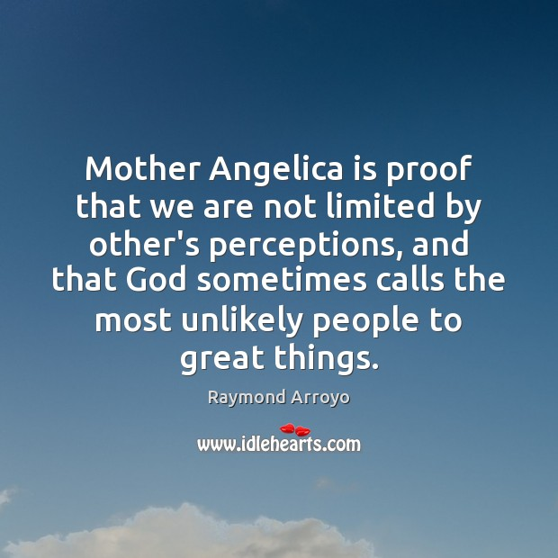 Mother Angelica is proof that we are not limited by other's perceptions, Image