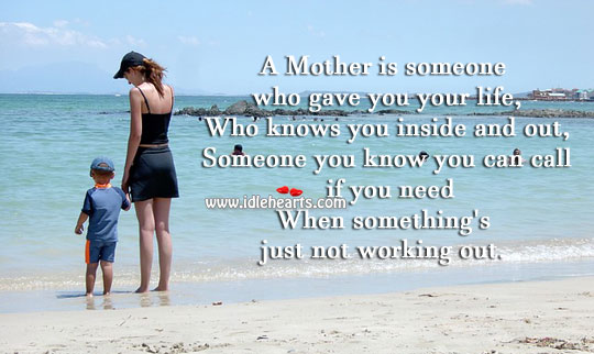 Image, What is a mother
