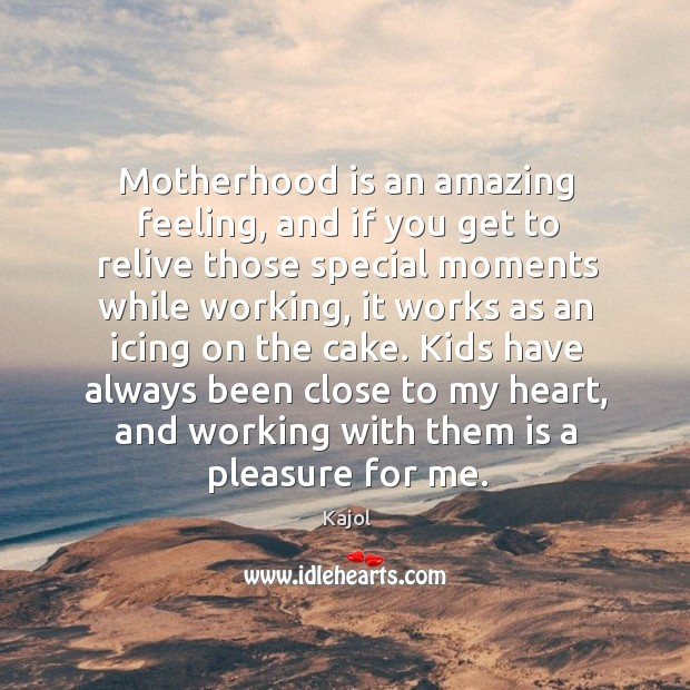 Motherhood is an amazing feeling, and if you get to relive those Motherhood Quotes Image