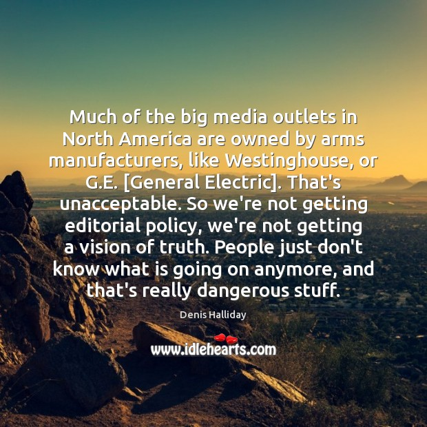 Much of the big media outlets in North America are owned by Image
