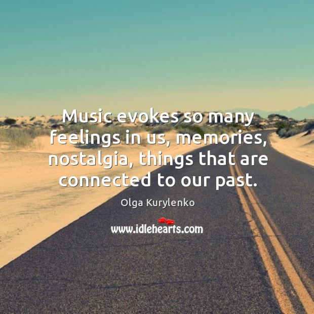 Music evokes so many feelings in us, memories, nostalgia, things that are Image