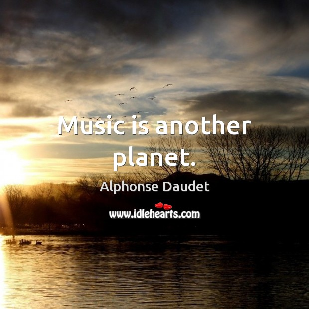 Image, Music is another planet.