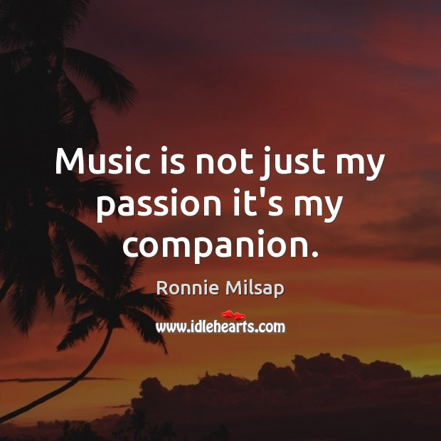 Image, Music is not just my passion it's my companion.