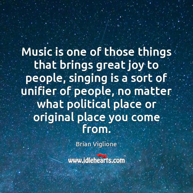 Image, Music is one of those things that brings great joy to people,