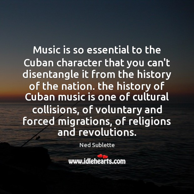 Music is so essential to the Cuban character that you can't disentangle Image