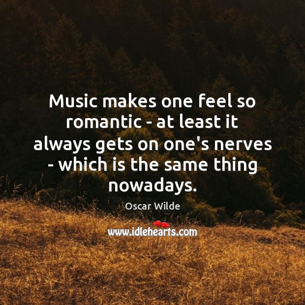 Image, Music makes one feel so romantic – at least it always gets