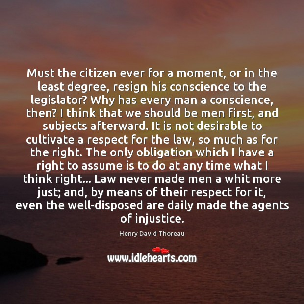 Must the citizen ever for a moment, or in the least degree, Image