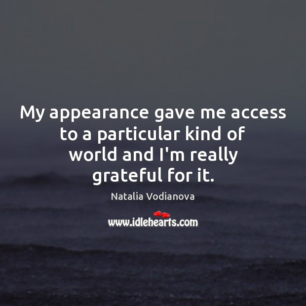 Appearance Quotes
