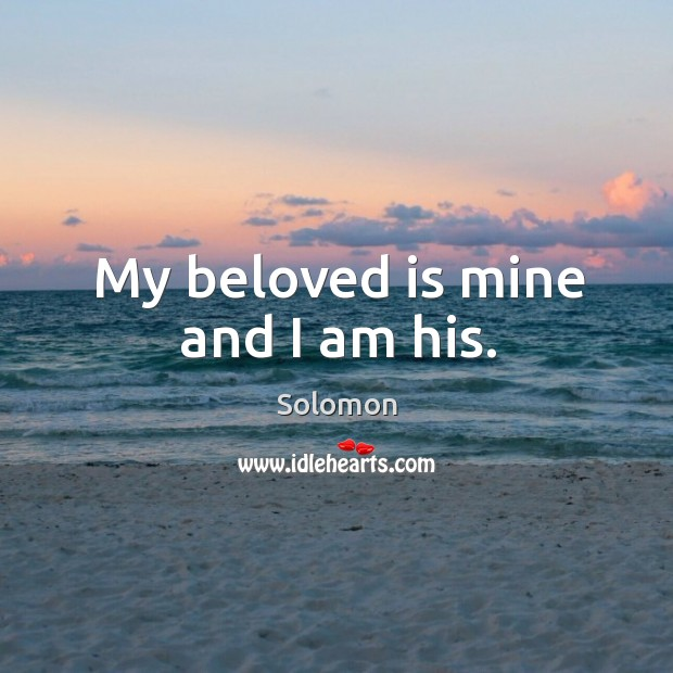 Picture Quote by Solomon