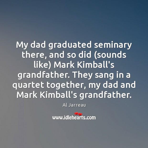 Image, My dad graduated seminary there, and so did (sounds like) Mark Kimball's