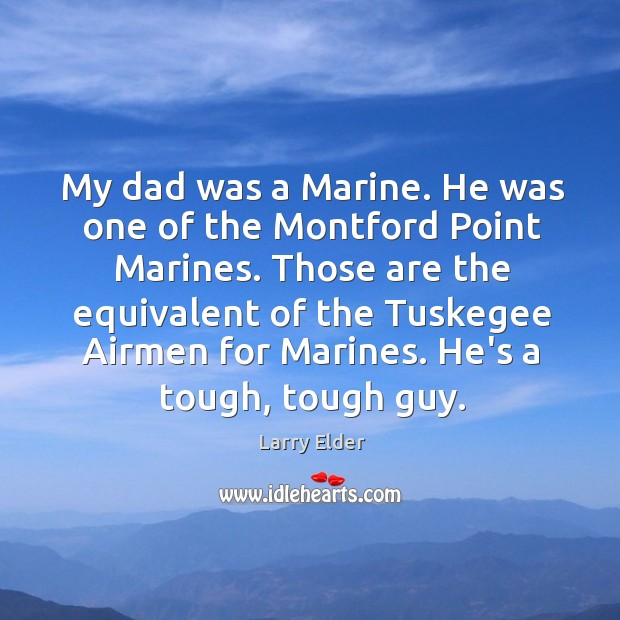 Image, My dad was a Marine. He was one of the Montford Point