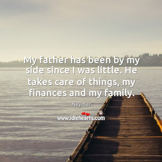 My father has been by my side since I was little. He Image