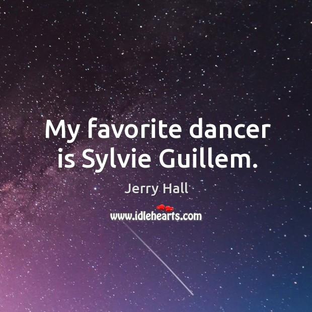 My favorite dancer is sylvie guillem. Image