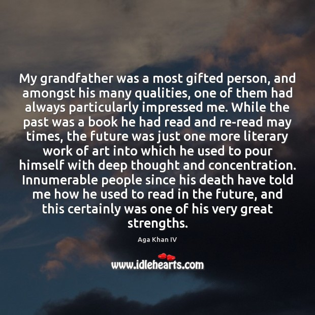 Image, My grandfather was a most gifted person, and amongst his many qualities,