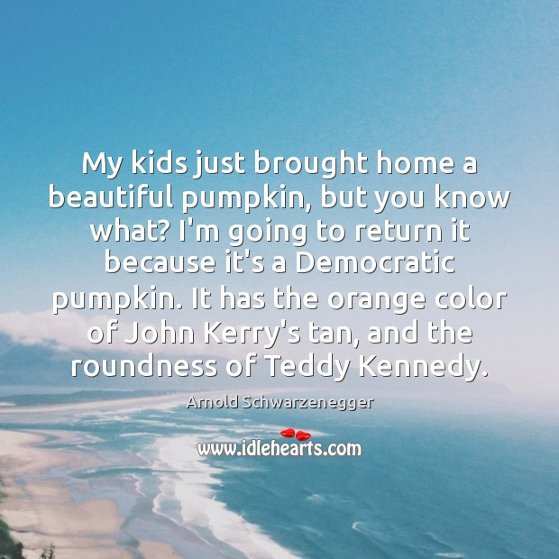 Image, My kids just brought home a beautiful pumpkin, but you know what?