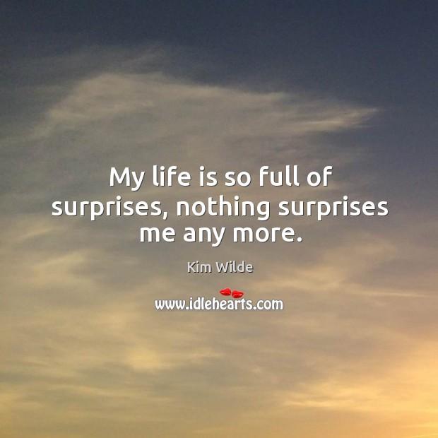 life is full of surprises essay