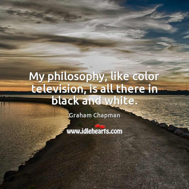 Picture Quote by Graham Chapman