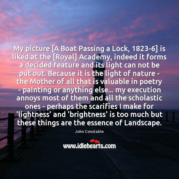 Image, My picture [A Boat Passing a Lock, 1823-6] is liked at the [