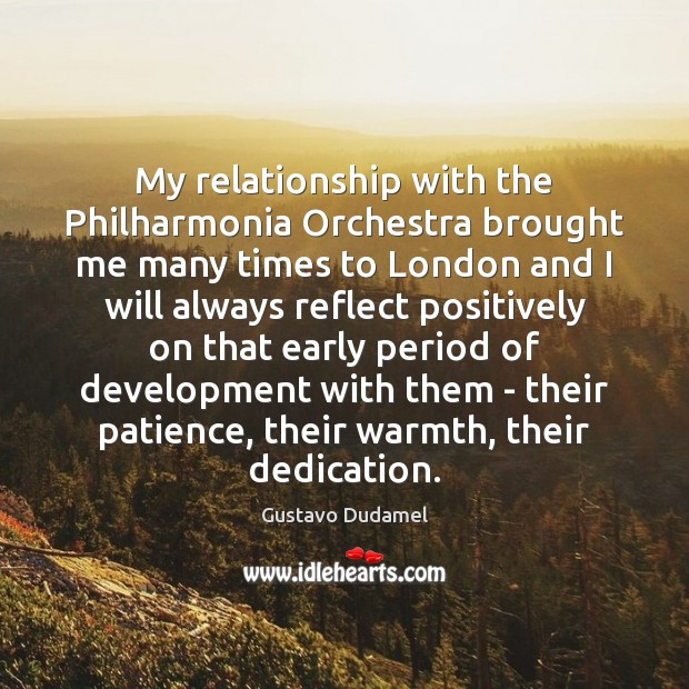 My relationship with the Philharmonia Orchestra brought me many times to London Image