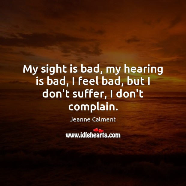 Complain Quotes