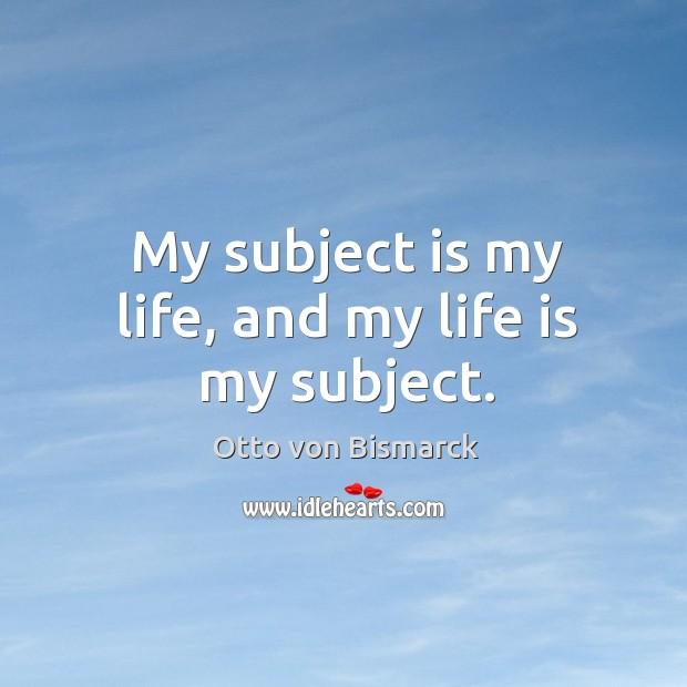 Picture Quote by Otto von Bismarck