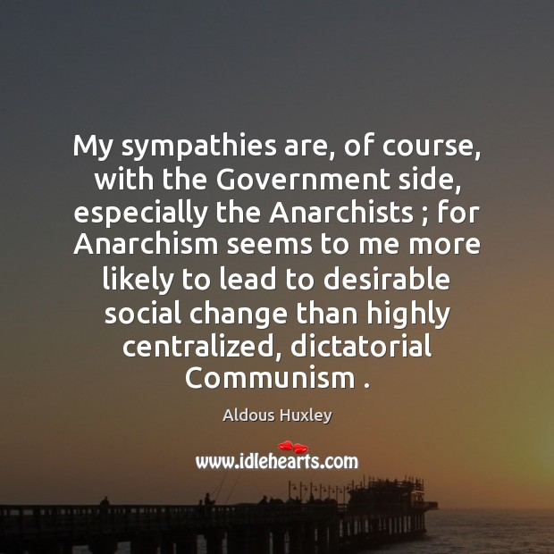 Image, My sympathies are, of course, with the Government side, especially the Anarchists ;
