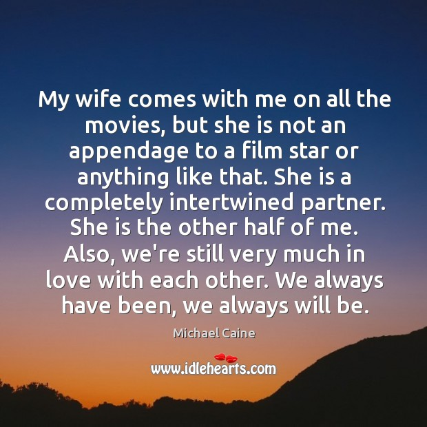 Image, My wife comes with me on all the movies, but she is