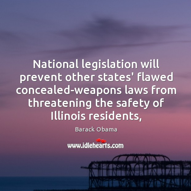 Image, National legislation will prevent other states' flawed concealed-weapons laws from threatening the