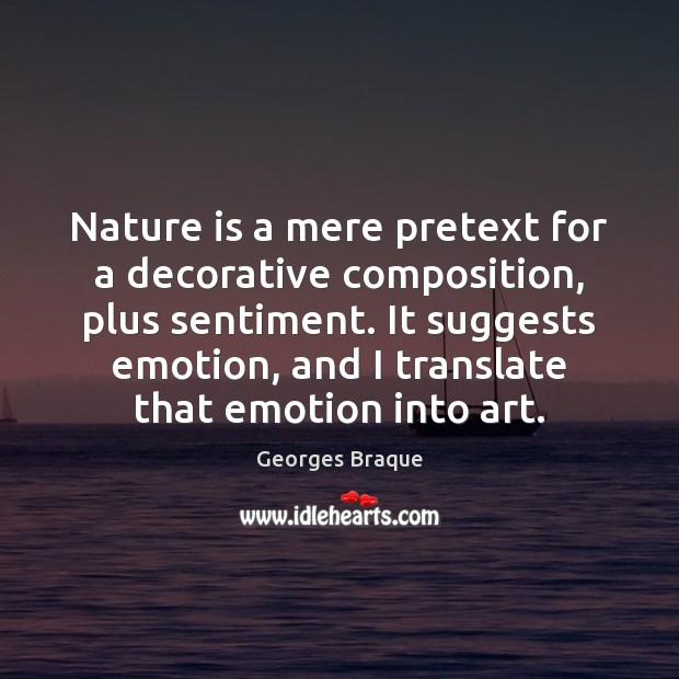Nature is a mere pretext for a decorative composition, plus sentiment. It Image