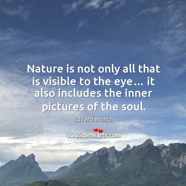 nature is all The all (also called the one, the absolute feminine aspect in that same process for example, we say mother earth and mother nature different aspects of.