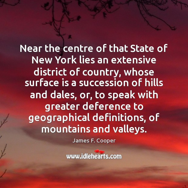 Near the centre of that State of New York lies an extensive Image