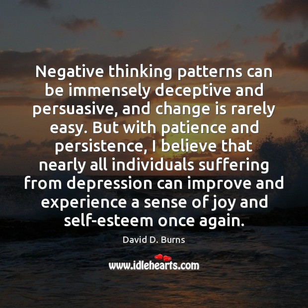 how to change negative thinking patterns