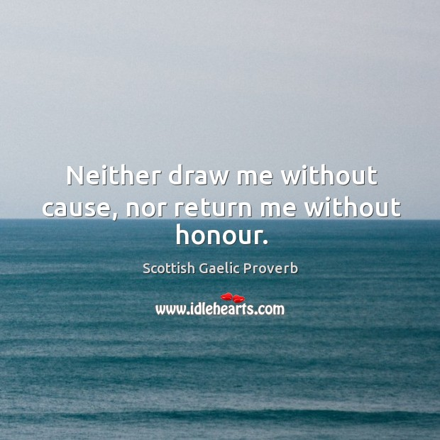 Scottish Gaelic Proverbs
