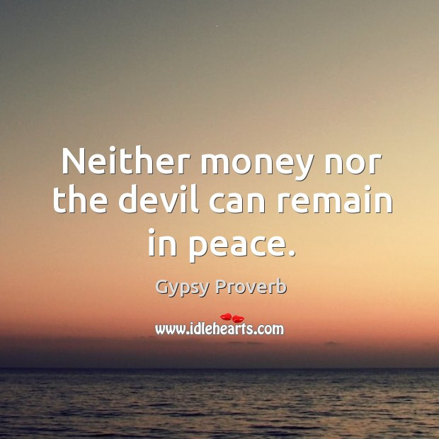Gypsy Proverbs