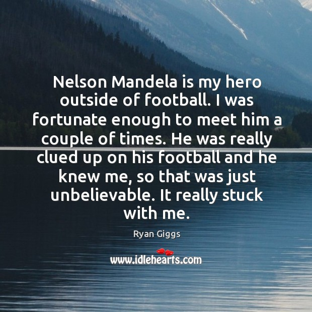 nelson mandela is my hero Nelson mandela is a hero to me because he developed many resources for the people of south africa in prison simply for his beliefs lastly, every career he has had was for the benefit of others south africa's first black-run law firm was set up by him.