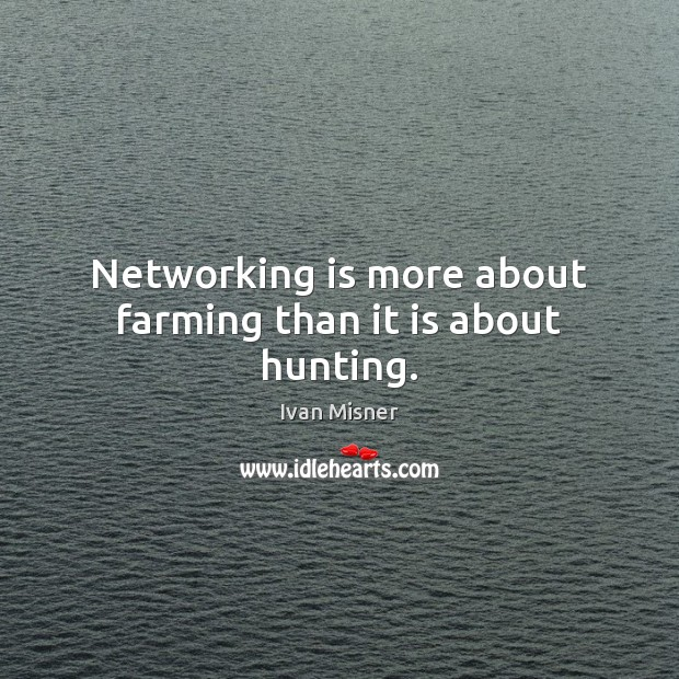 Picture Quote by Ivan Misner