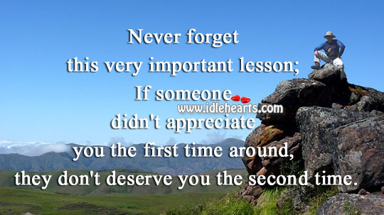 Image about Don't deserve you the second time.