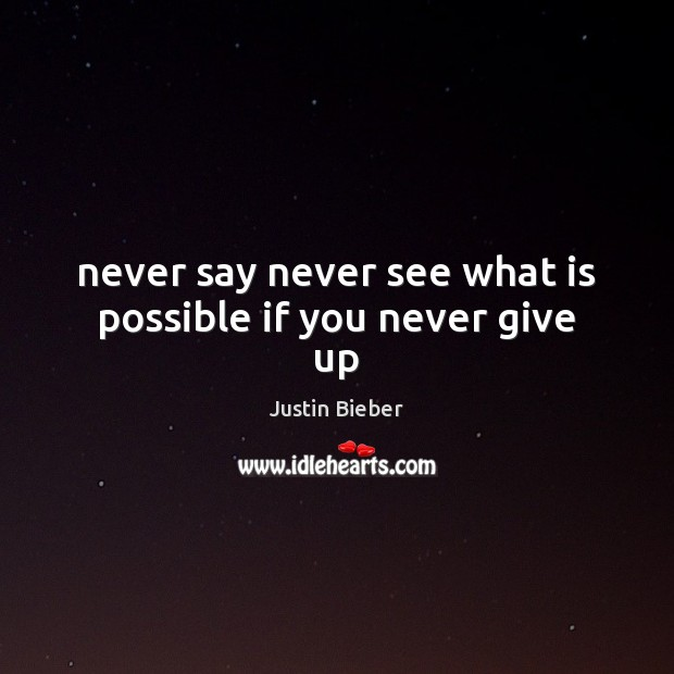 Picture Quote by Justin Bieber