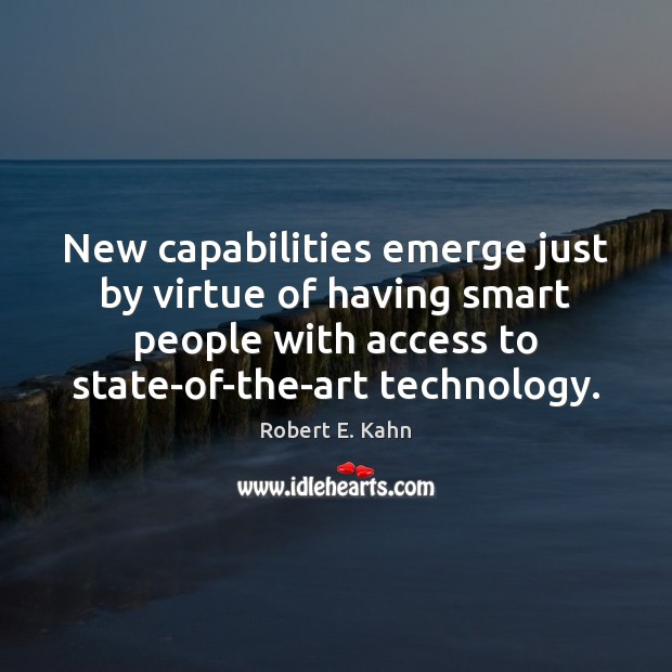 New capabilities emerge just by virtue of having smart people with access Image