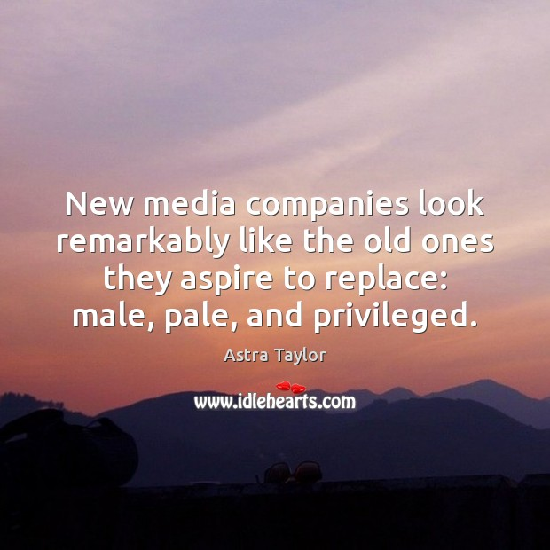 Image, New media companies look remarkably like the old ones they aspire to