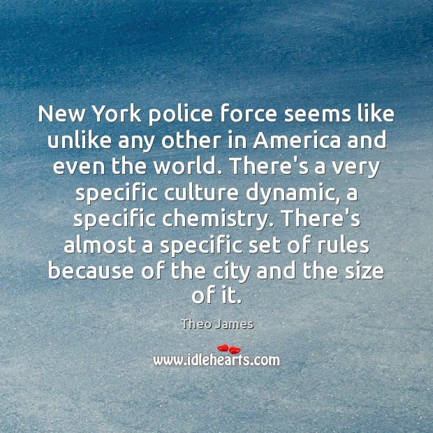 New York police force seems like unlike any other in America and Image