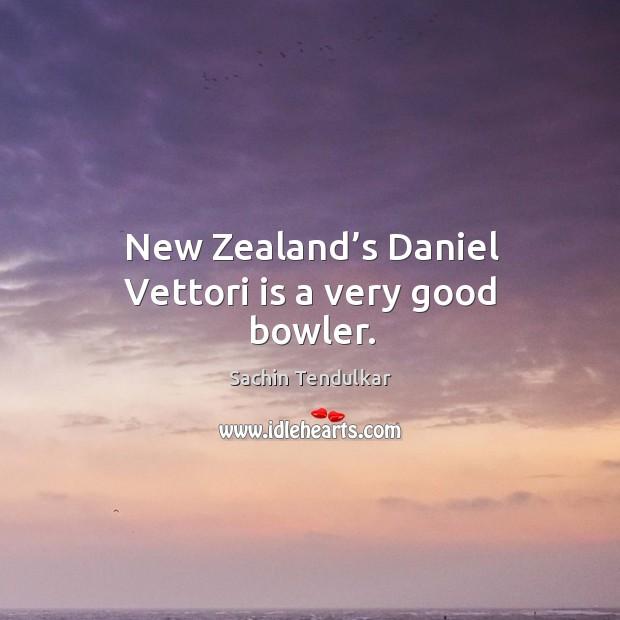 New zealand's daniel vettori is a very good bowler. Image