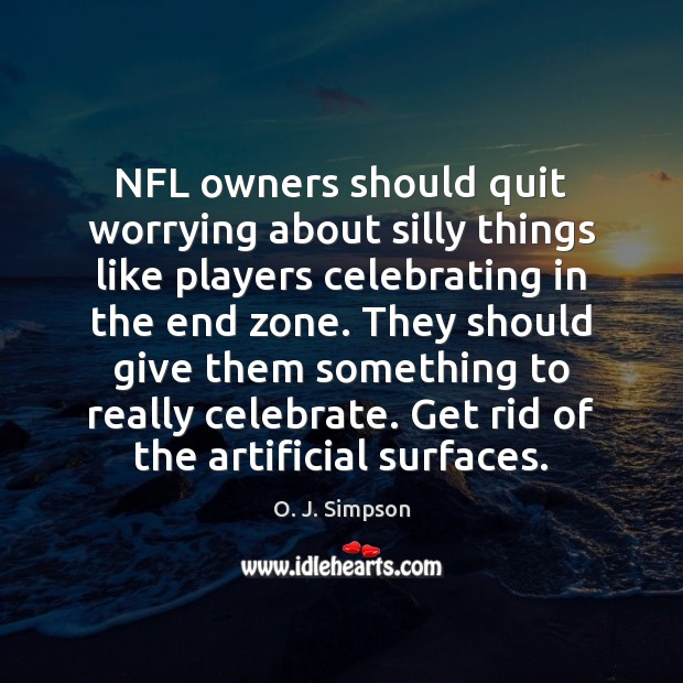 Image, NFL owners should quit worrying about silly things like players celebrating in