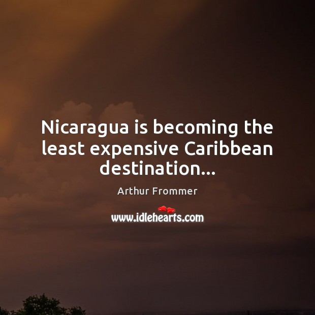 Image, Nicaragua is becoming the least expensive Caribbean destination…