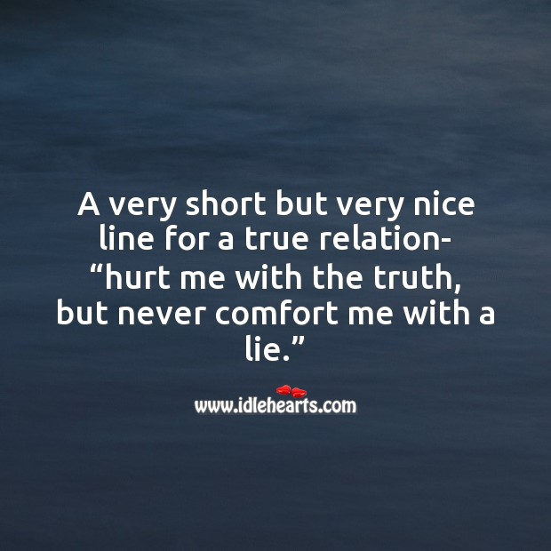 Image about Nice line for a true relation