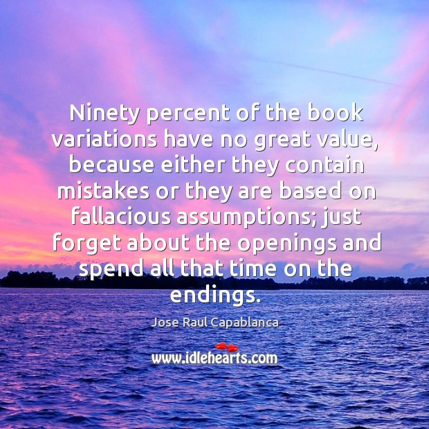 Image, Ninety percent of the book variations have no great value, because either