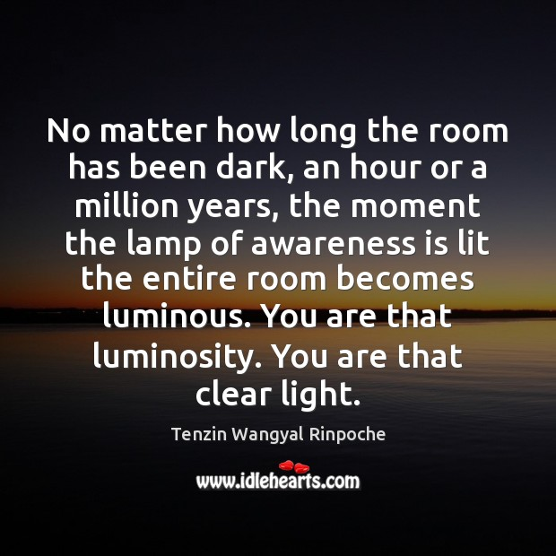 Picture Quote by Tenzin Wangyal Rinpoche