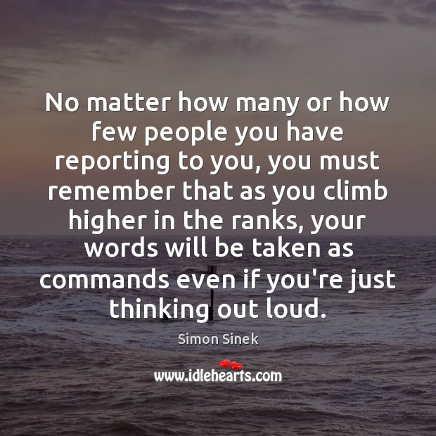 No matter how many or how few people you have reporting to Image